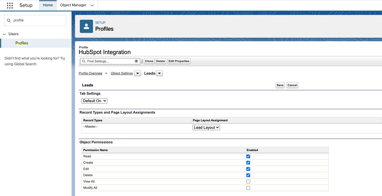1. integration user