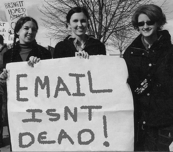 Email marketing isn't dead