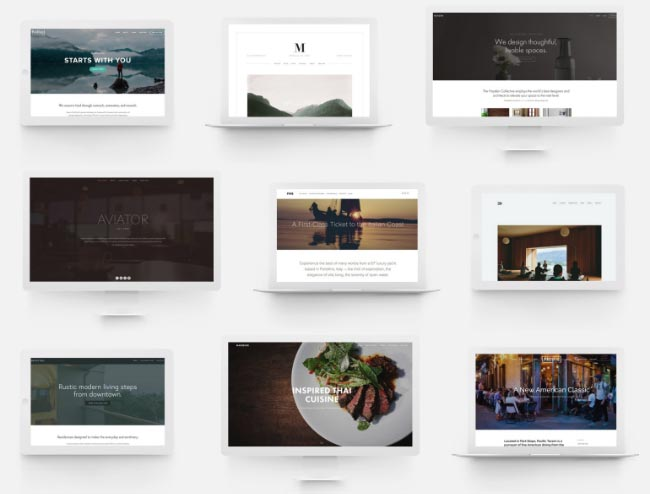 Identikit Website Templates
