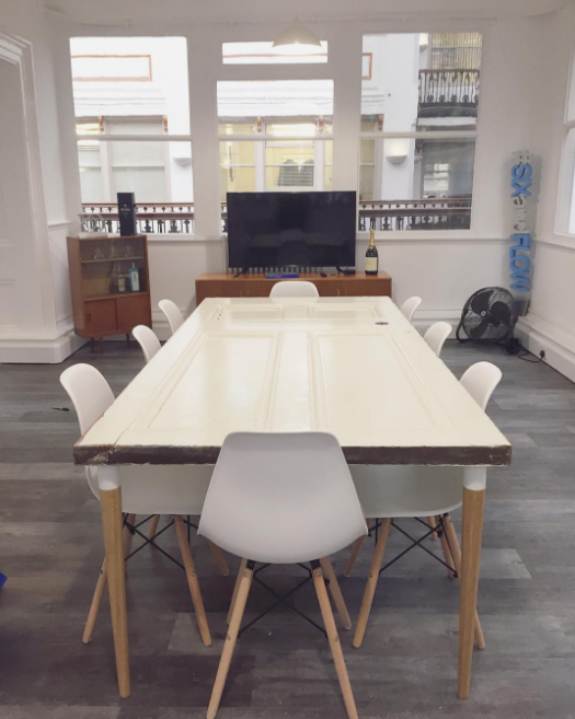 Manchester growth marketing agencySix & Flow has found a brand new home - Six and Flow Boardroom