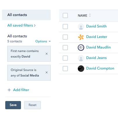 Manage all your contacts using HubSpot CRM
