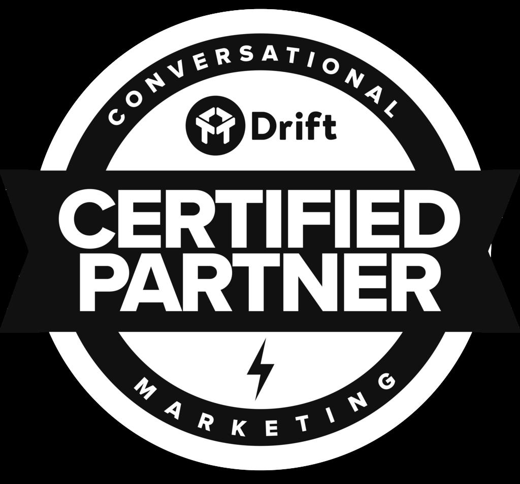 Six & Flow is proud to be a certified Drift marketing partner