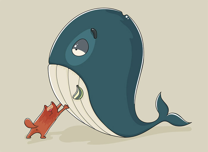 Account-based marketing whale hunting