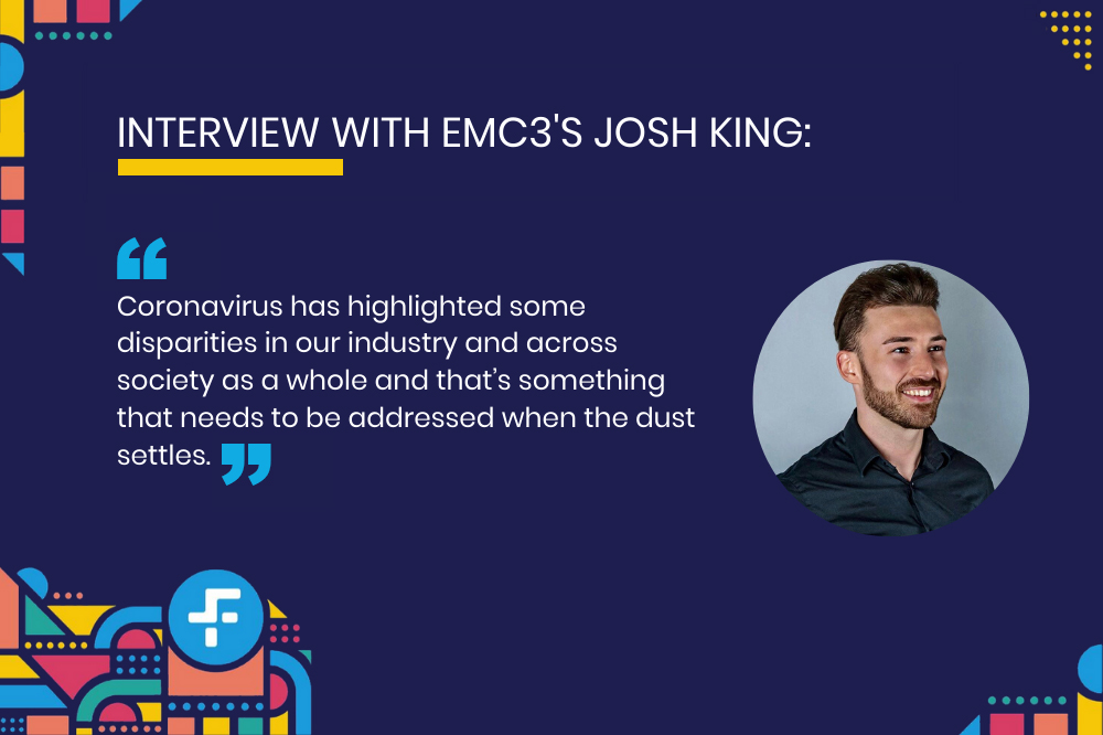 An interview with with Josh King from EMC3