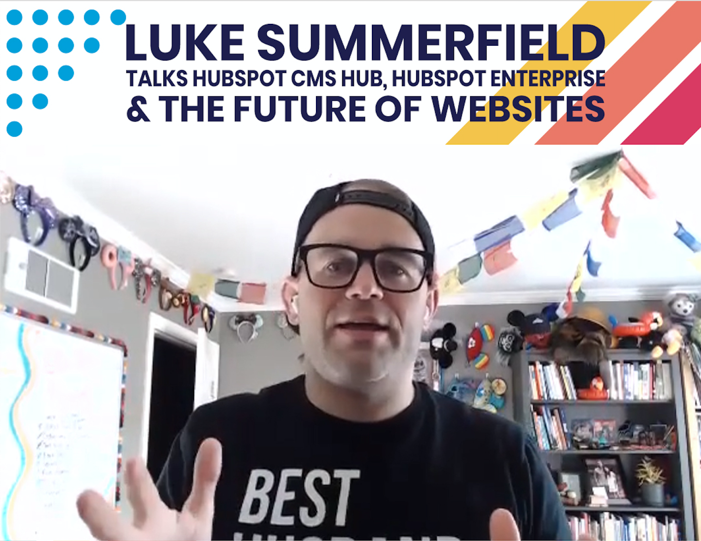 Luke Summerfield talks about HubSpot CMS Hub and the future of websites for business