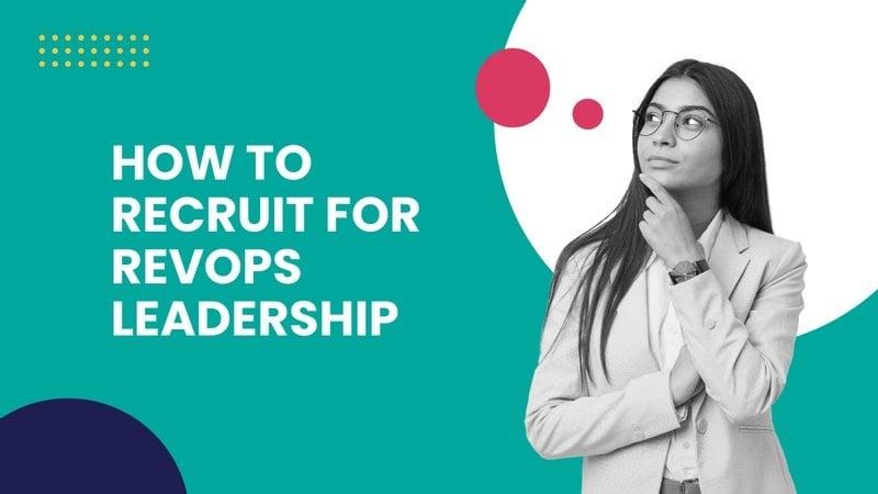 recruiting for revops leadership